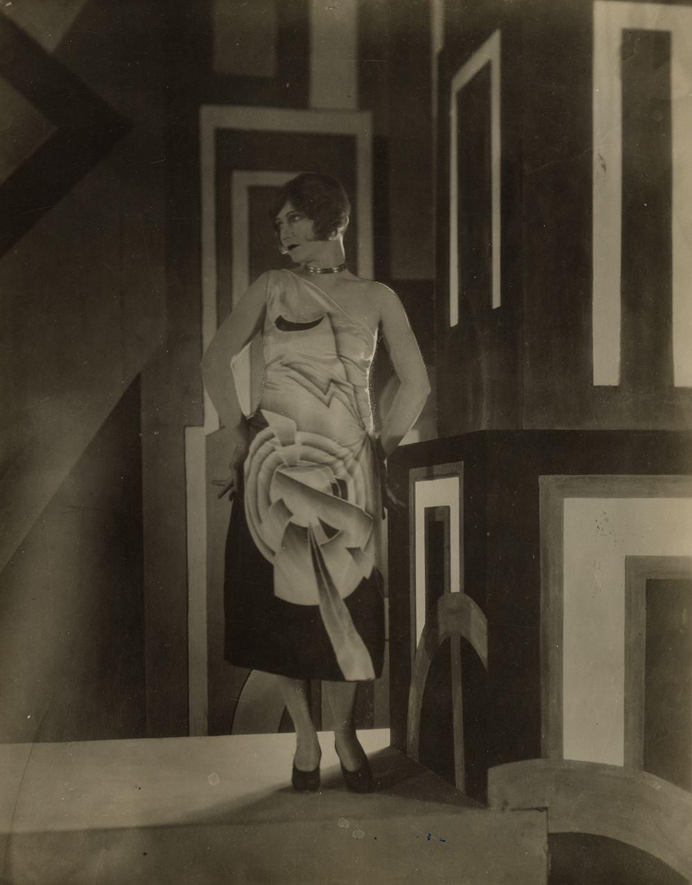 A Louis Lozowick-designed dress worn by Gilda Gray.