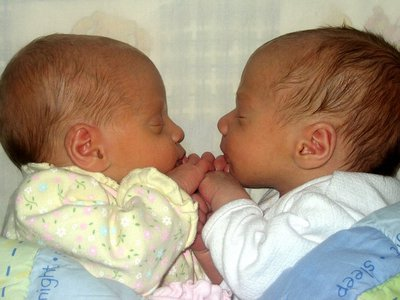 The surges in twin births occurred only in fraternal twins and may be from increased use in vitro fertilization methods.