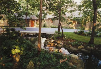Carter hoped Camp David (the president's quarters, Aspen Lodge, 1973) would relax the Egyptians and Israelis. But one delegate called it gloomy. Sadat likened the isolation to prison.