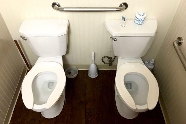 Double toilet thumbnail