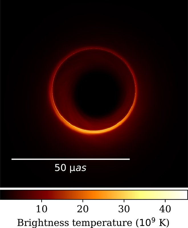 To Image a Black Hole Again, Scientists May Need to Put a Telescope on the Moon