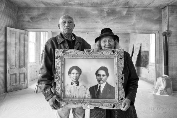 Elroy & Sophia Williams – Sophia Grandparents, Former Slaves, Donated Land for a Rosenwald School thumbnail
