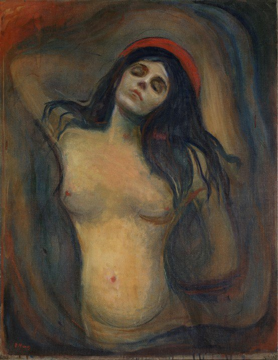 Hidden Sketch Reveals a More Traditional Version of Edvard Munch's Sensual 'Madonna'