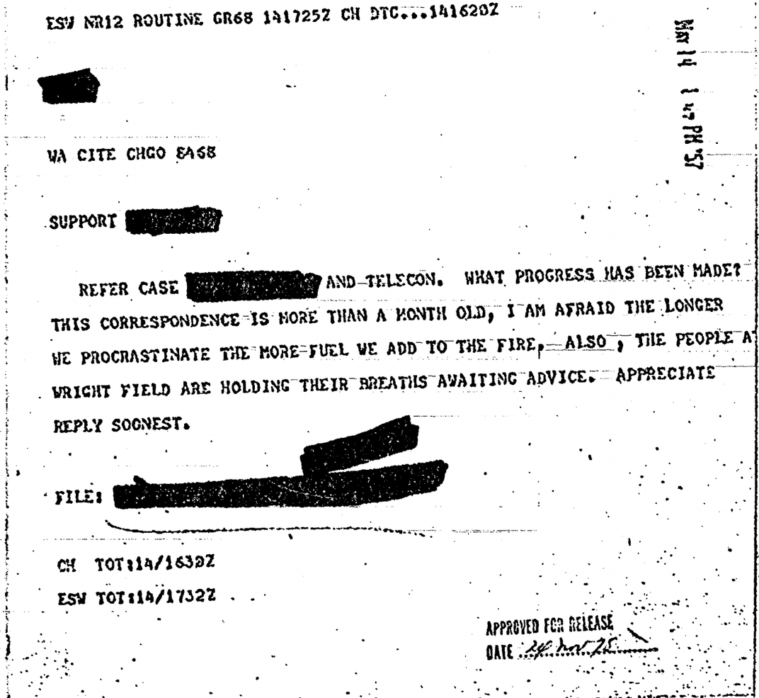 You Can Now Explore the CIA's 'Entire' Collection of UFO Documents Online