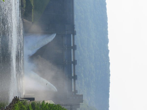 Angel  Wings on Kinzua Dam Spillway thumbnail