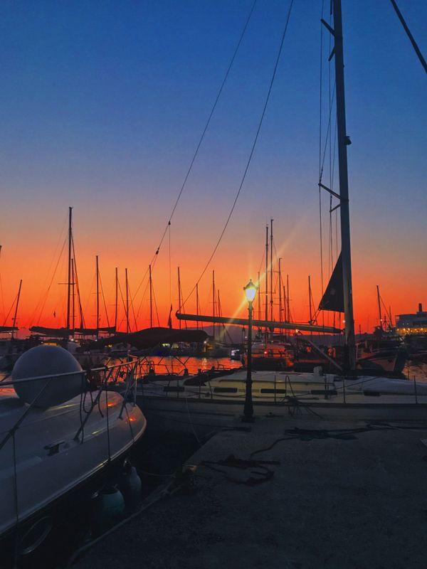 Vibrant Dock Sunset thumbnail