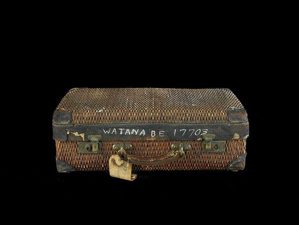 Suitcase that belonged to Taki Watanabe