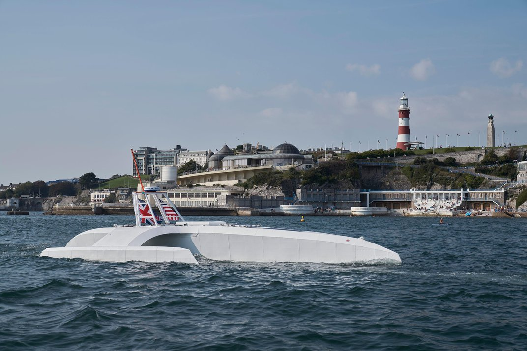 An A.I.-Driven 'Mayflower' Will Cross the Atlantic Next Year