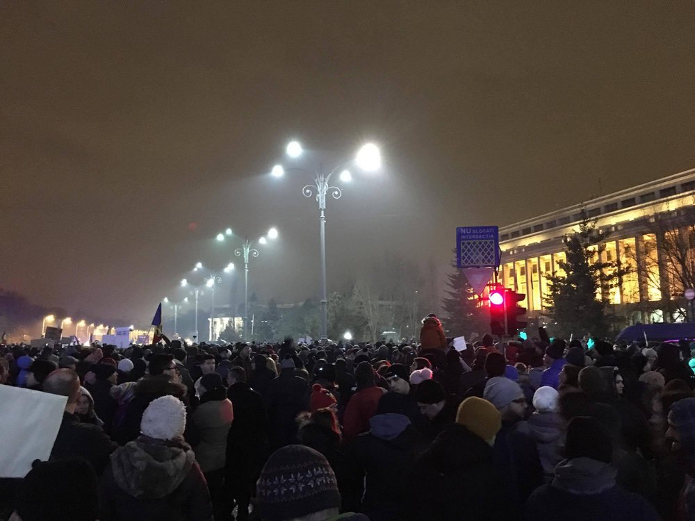 Romanian Protests