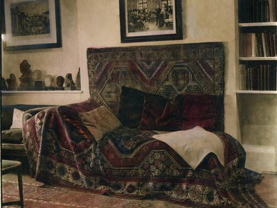 The couch on which Freud's patients lay became identified  with psychoanalysis itself. He shipped it to London when he left Vienna.