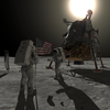 The new app allows users to walk on the moon with Neil Armstrong and Buzz Aldrin.