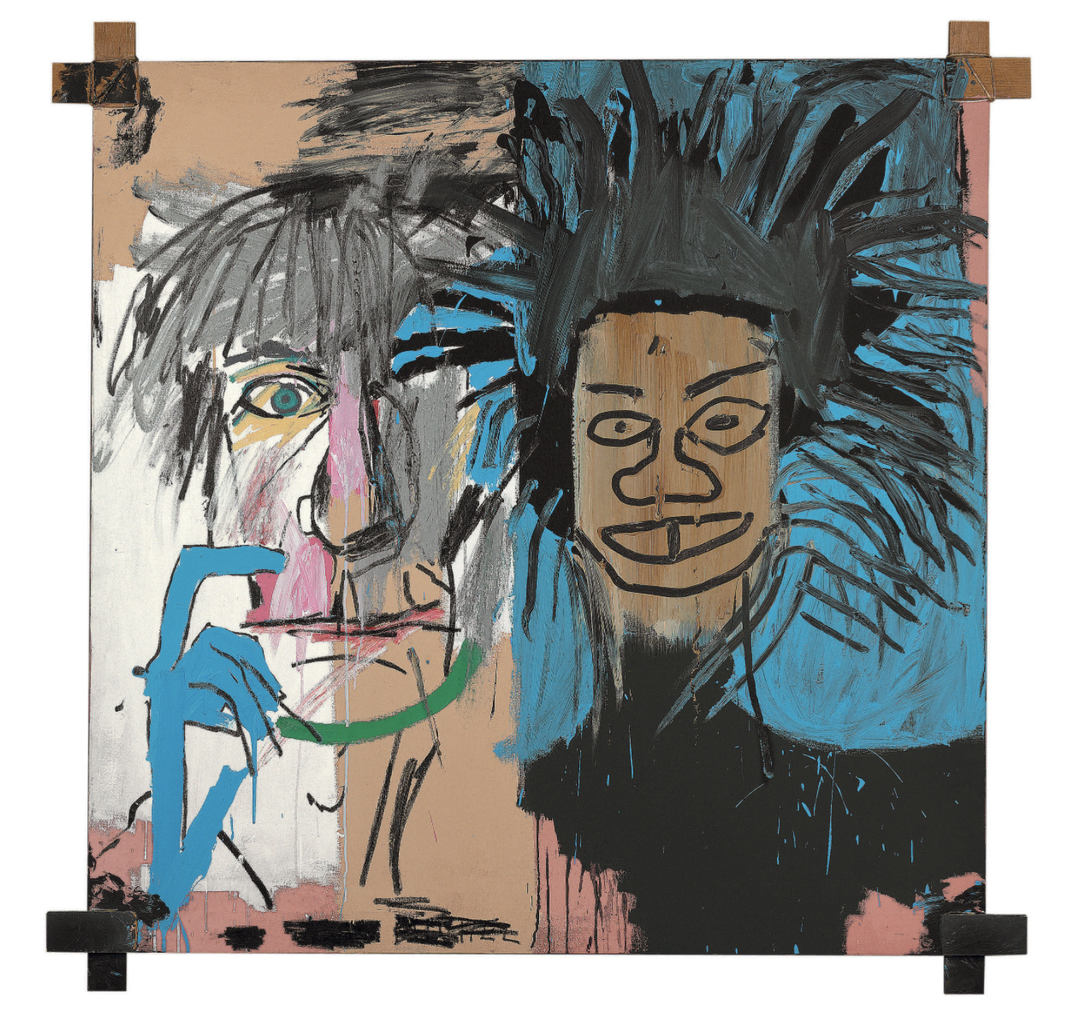 Why Andy Warhol Peed on This Portrait of Jean-Michel Basquiat