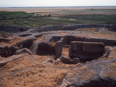 The beginning of excavations at Çatalhöyük.