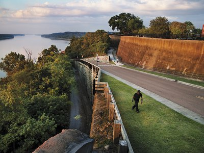 Natchez, a historic cotton and sugar port on the Mississippi River, has seen its population fall by a third since 1960.