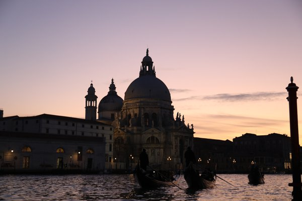 Gondolas on the Grand Canal thumbnail