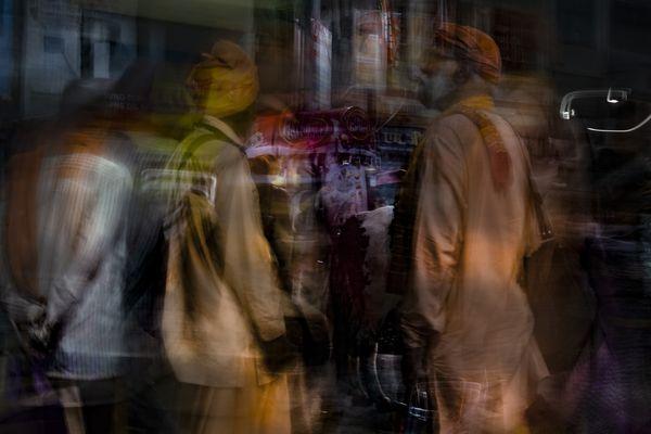 In the street in Varanasi thumbnail