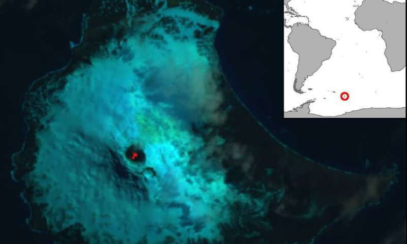 Lava Lake Satellite