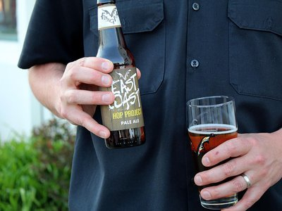 Flying Dog plans to release a seasonal beer each year with hops grown from the project.