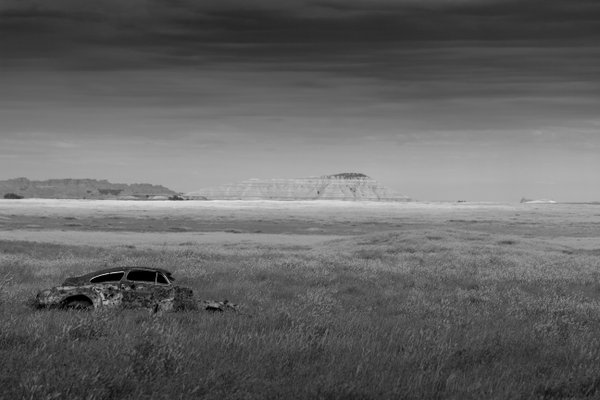 Abandoned in Badlands National Park thumbnail