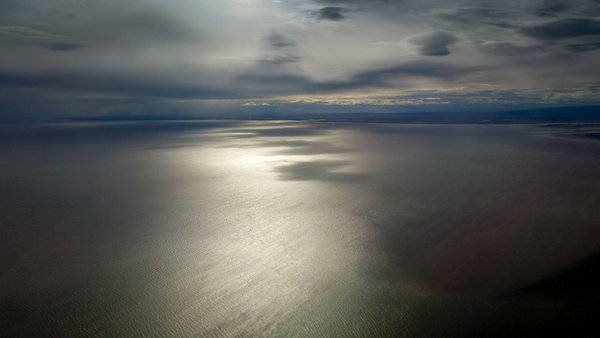Aerial view of the Cook Inlet thumbnail