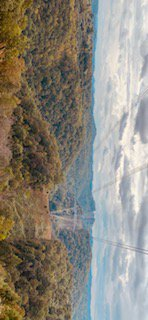 The mountains in west virginia during fall thumbnail