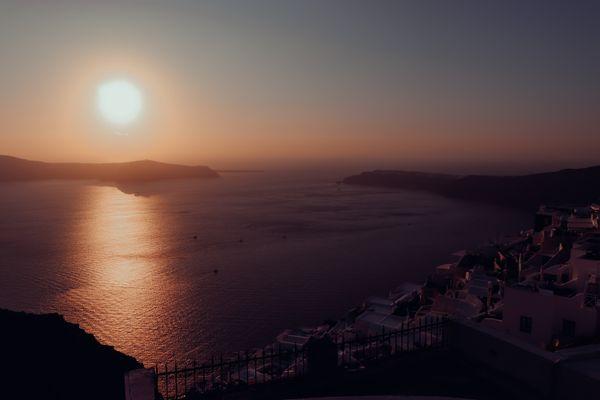 Santorini sunset  thumbnail