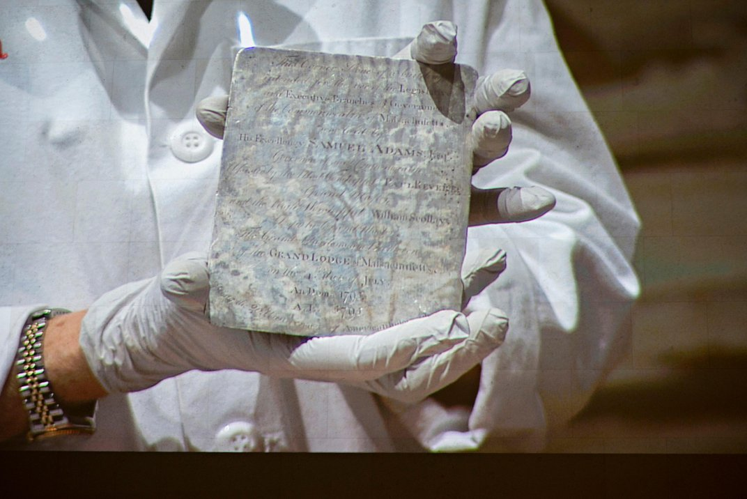 What Was Found Inside the Oldest American Time Capsule