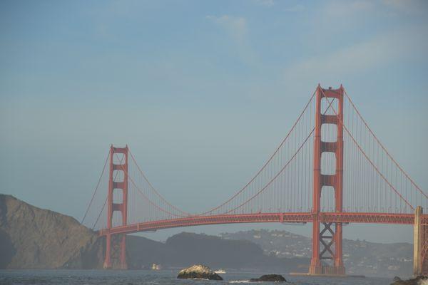 Hazy Golden Gate Bridge thumbnail