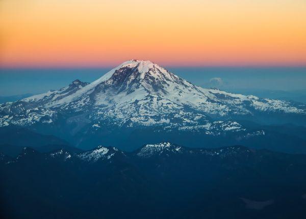 Sunset of Mt. Rainier thumbnail