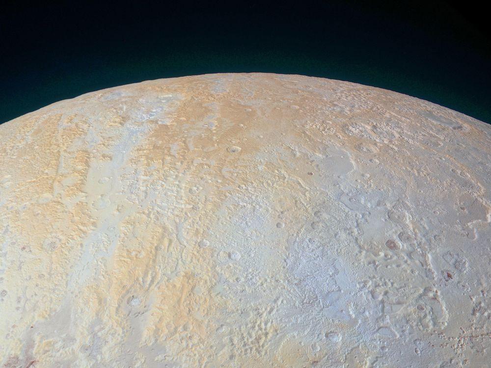 Pluto North Pole