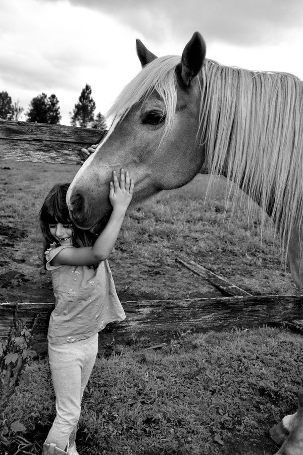 A girl and her pony thumbnail