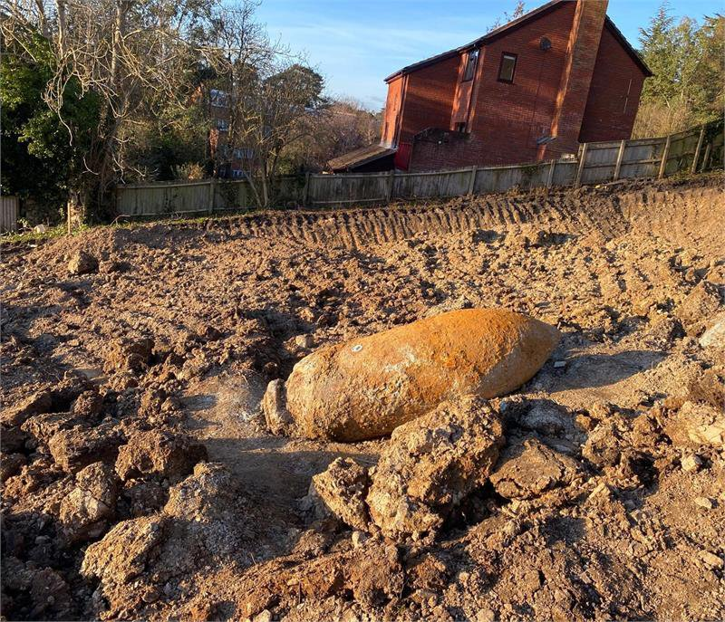 An Unexploded WWII Bomb Was (Safely) Detonated in England