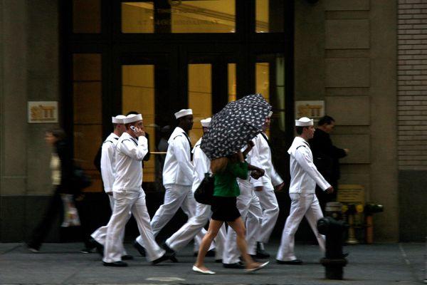 sailors on Broadway thumbnail