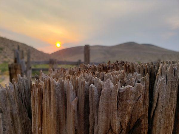 150 year old corral in White Hills, Arizona thumbnail