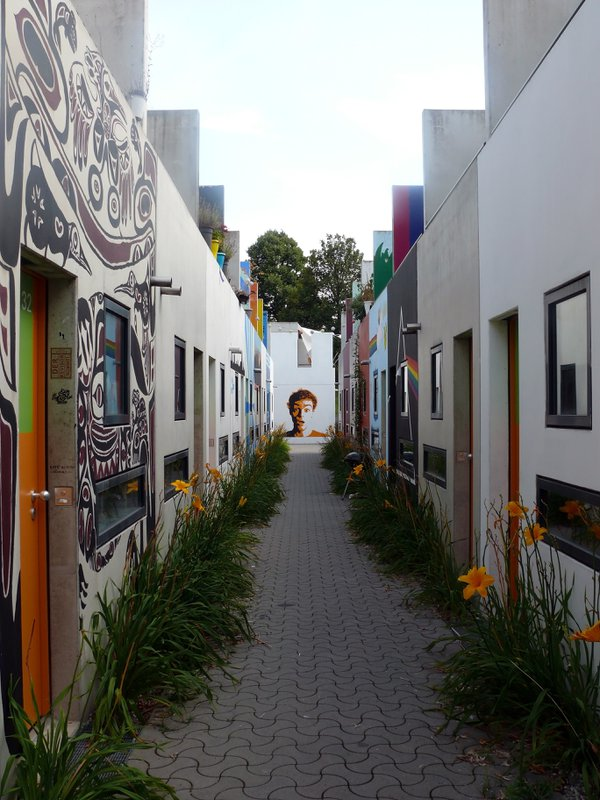 Tunnel vision amidst the Olympic village in Munich thumbnail