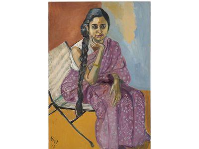 Woman, 1966 Oil on canvas 46 x 31 inches (116.8 x 78.7 cm) Private Collection, Miami.