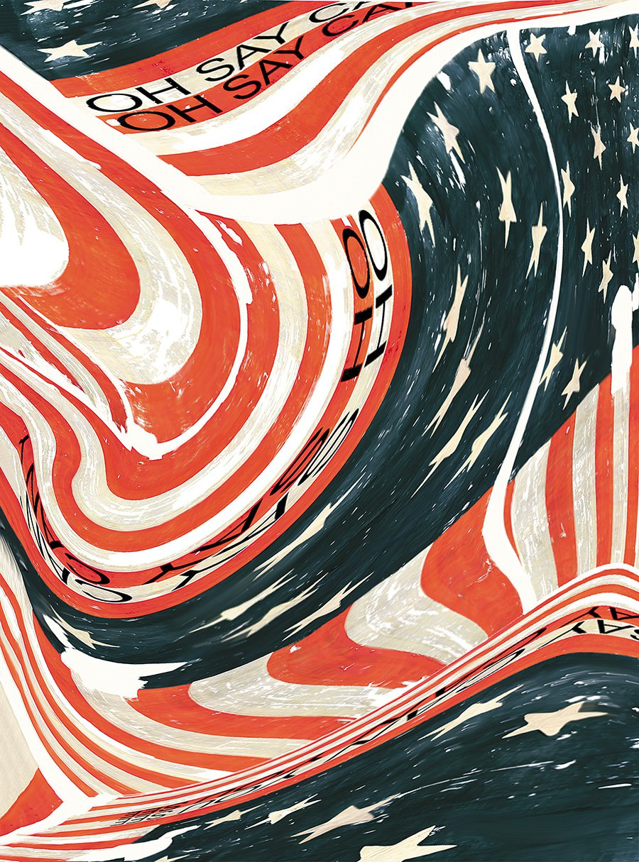 These Artistic Interpretations of the Star-Spangled Banner Call Out the Inner Patriot
