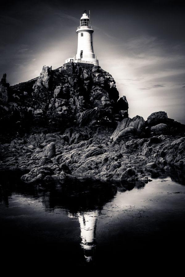 La Corbiere Lighthouse, Jersey thumbnail