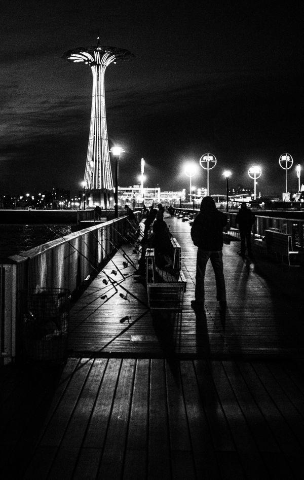 Nighttime Fishing thumbnail