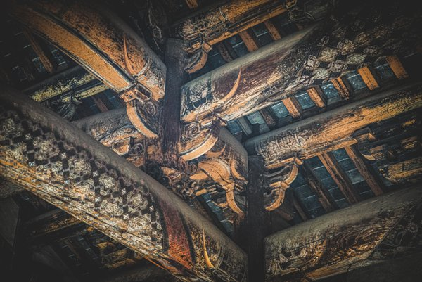 Roof Of Chinese Ancient House thumbnail