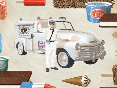 As innovations go, the ice cream truck might seem merely nutty. But summer would never be the same.