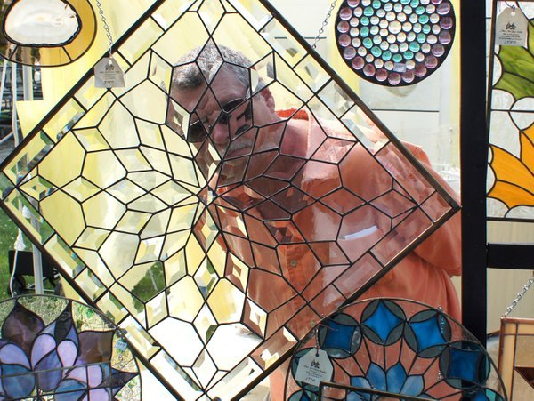 Stained glass portrait thumbnail