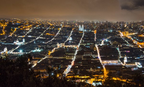 Foggy Night/ Quito, Ecuador, 2019 thumbnail