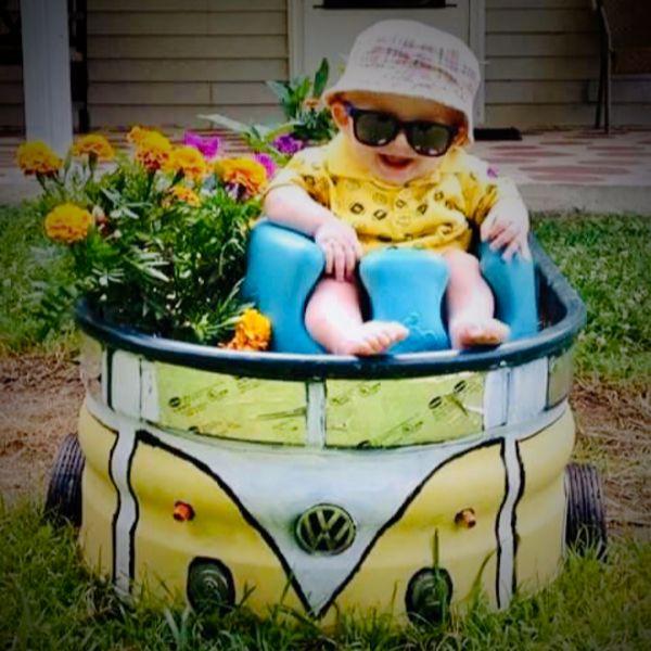 Feeder repurposed- Volkswagen planter thumbnail