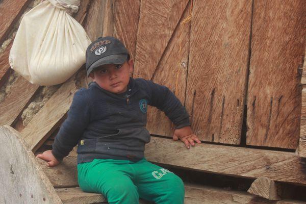 Rural child in northern Iran thumbnail