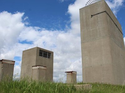 All this could be yours—for the right price. An auction for this North Dakota Cold War-era missile site begins on August 11.