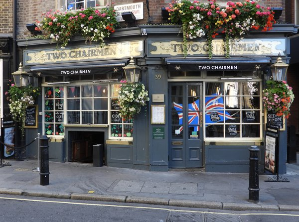 Two Chairmen Pub in London England thumbnail