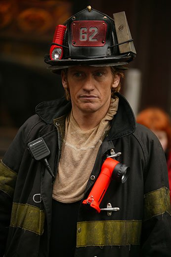 """Denis Leary donated props from the show """"Rescue Me."""""""