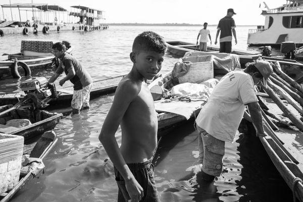 Boy portrait at Manaus Port thumbnail