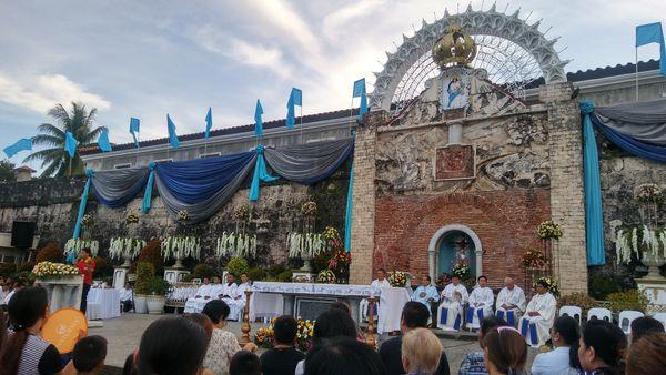 9th Novena Mass at Fort Pilar thumbnail